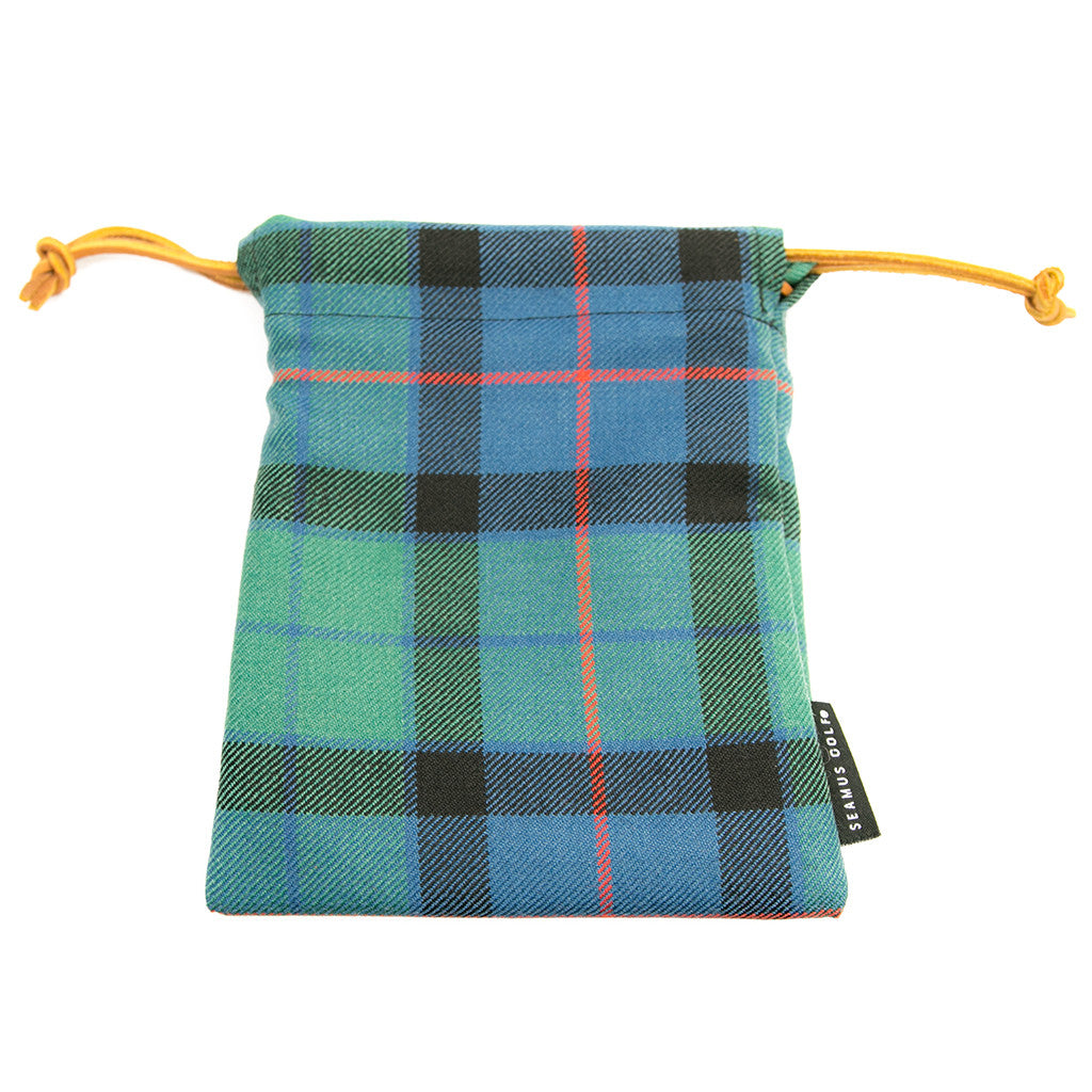 Flower of Scotland Tartan Pouches