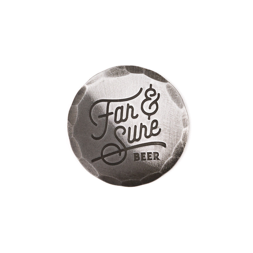 Hand Forged® Mild Steel Far & Sure Ball Mark