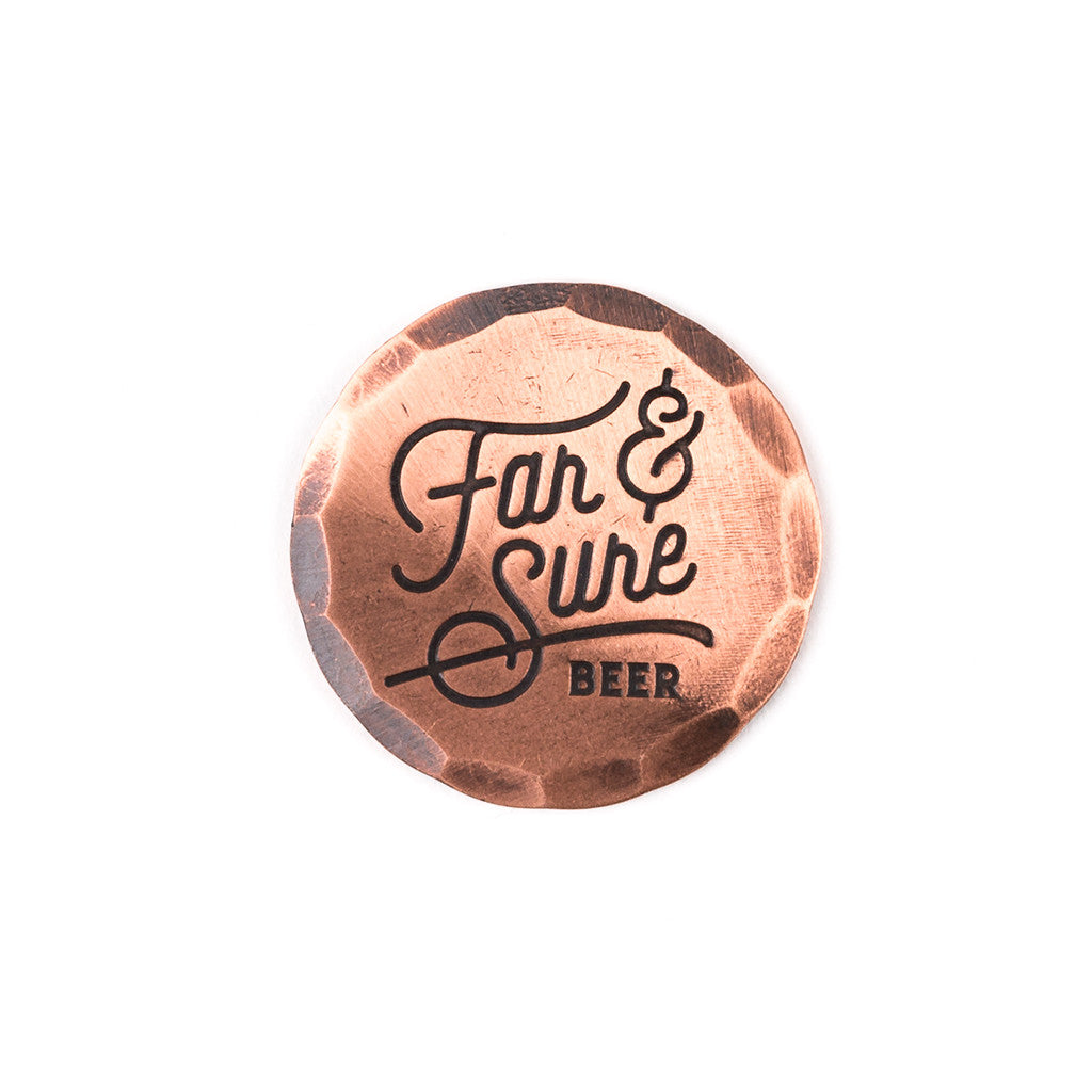 Hand Forged® Copper Far & Sure Ball Mark