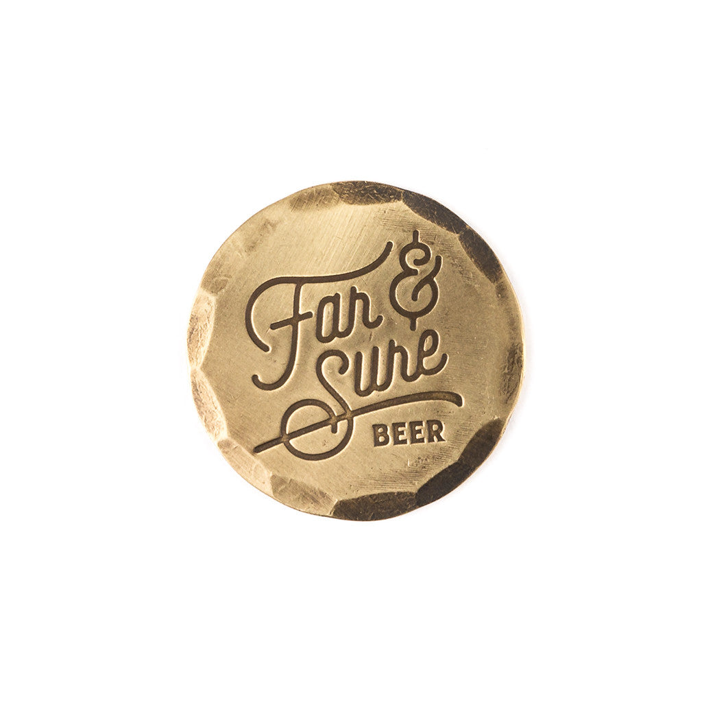 Hand Forged® Bronze Far & Sure Ball Mark