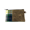 Fitzpatrick Tartan Pouches - Zippered Pouch / No leather label - SEAMUS GOLF - 1