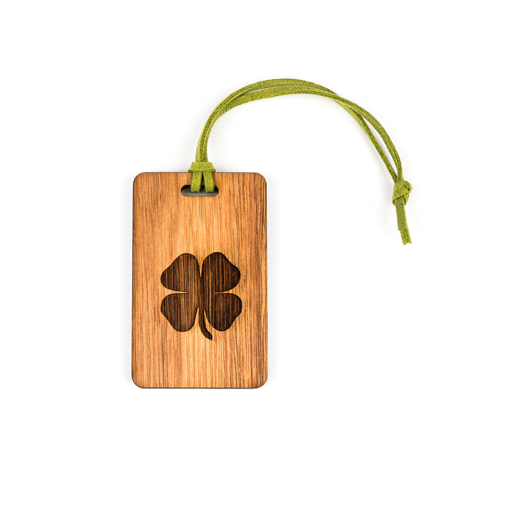 Four Leaf Clover Bag Tag