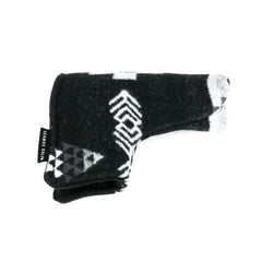 Black Graphite Putter Cover