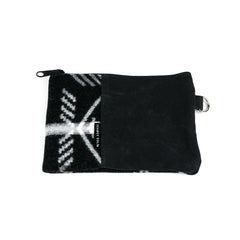 Black Graphite Zippered Pouch