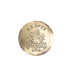 2016 U.S. Open Bronze Ball Marker