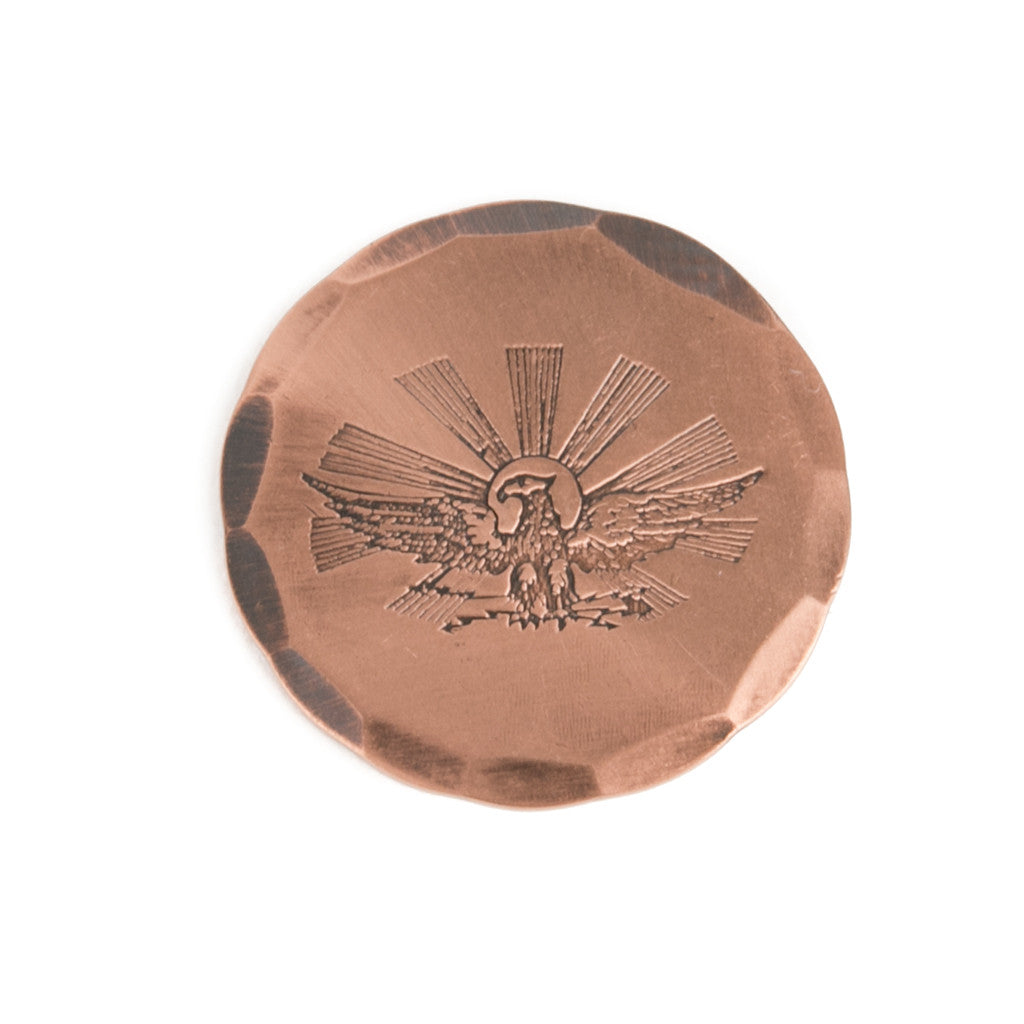 Hand Forged® Copper Eagle Ball Mark Limited Run