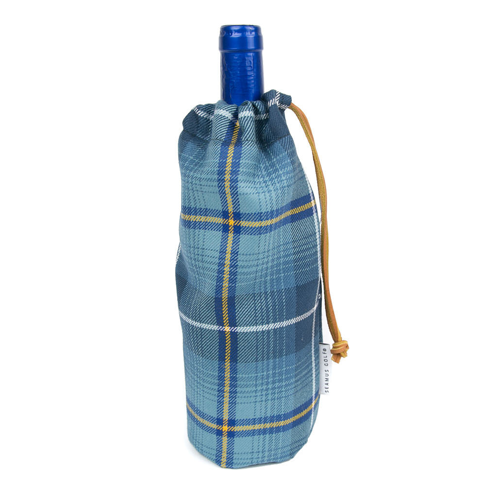 European Tartan Fairway Bottle Bag