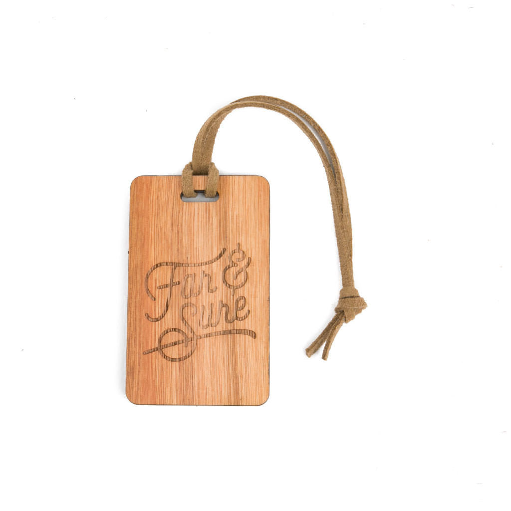 Far & Sure Signature Bag Tag