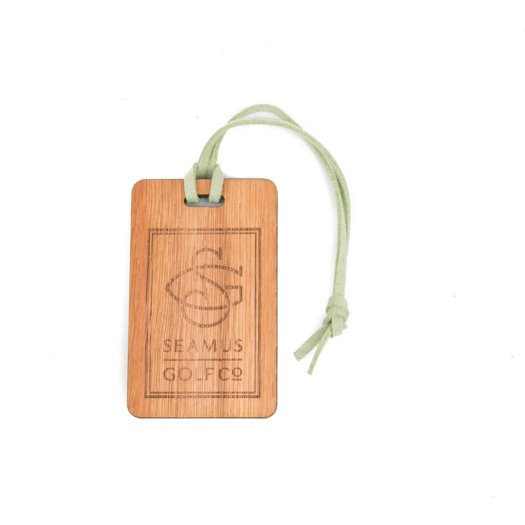 Seamus Rectangle Signature Bag Tag