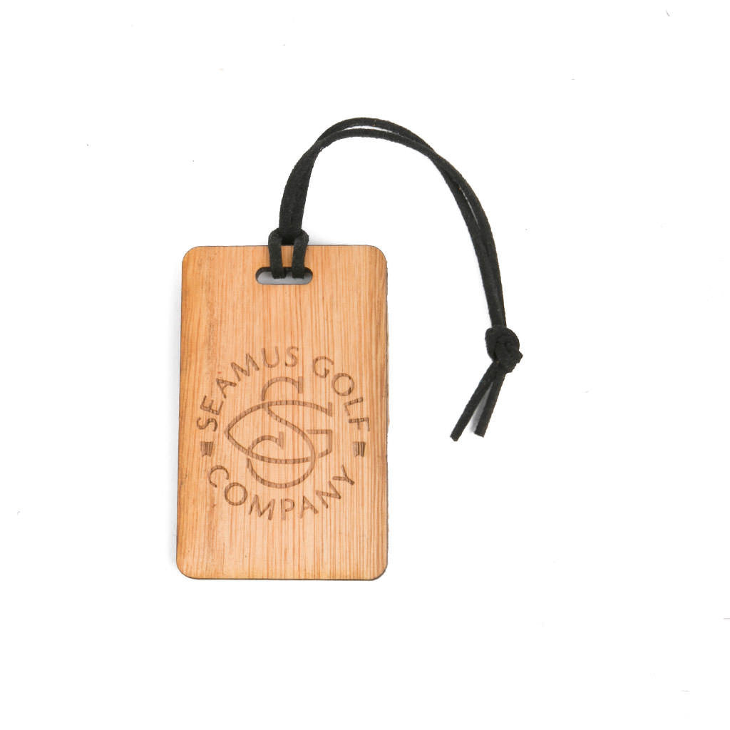 Seamus Circle Signature Bag Tag