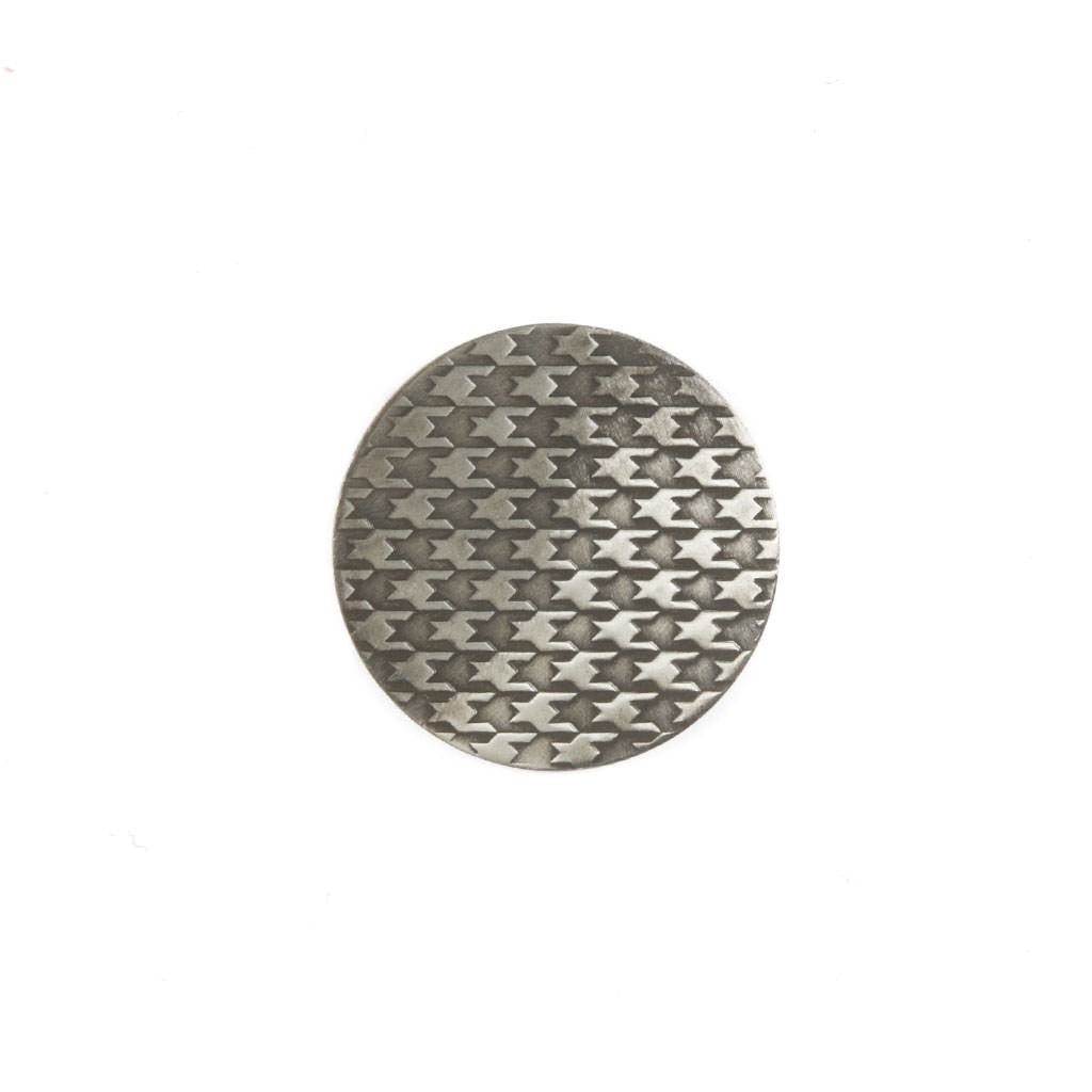 Hand Forged® Nickel Dogtooth Ball Mark