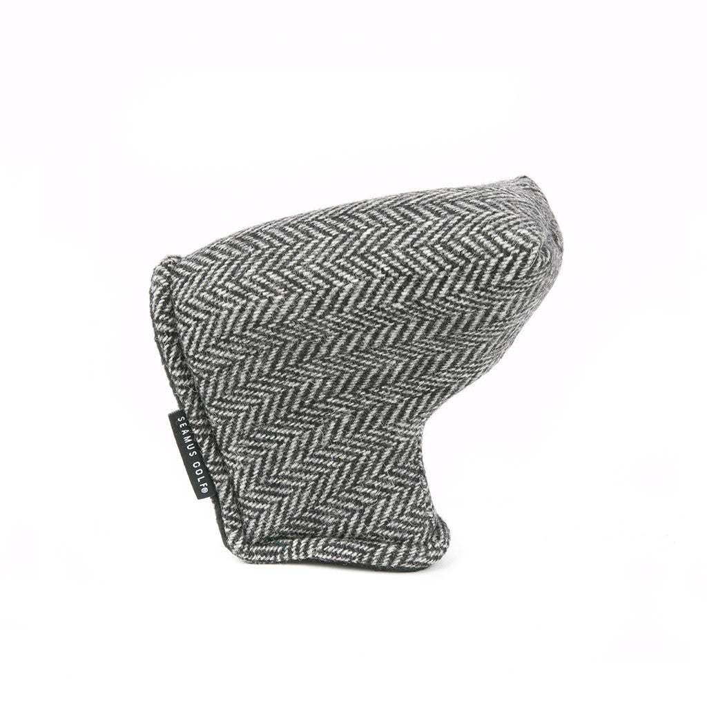 Charcoal Tweed Putter Cover