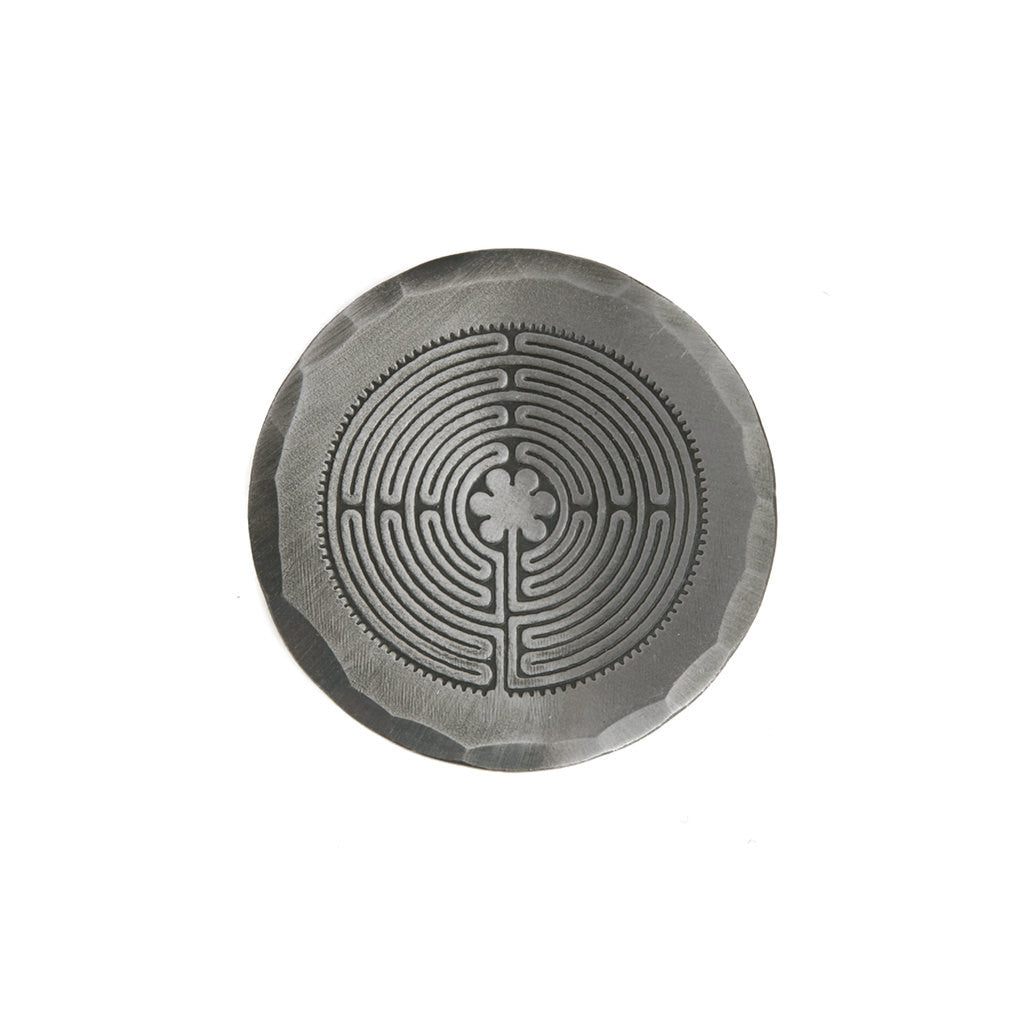 Hand Forged® Mild Steel Labyrinth Ball Mark