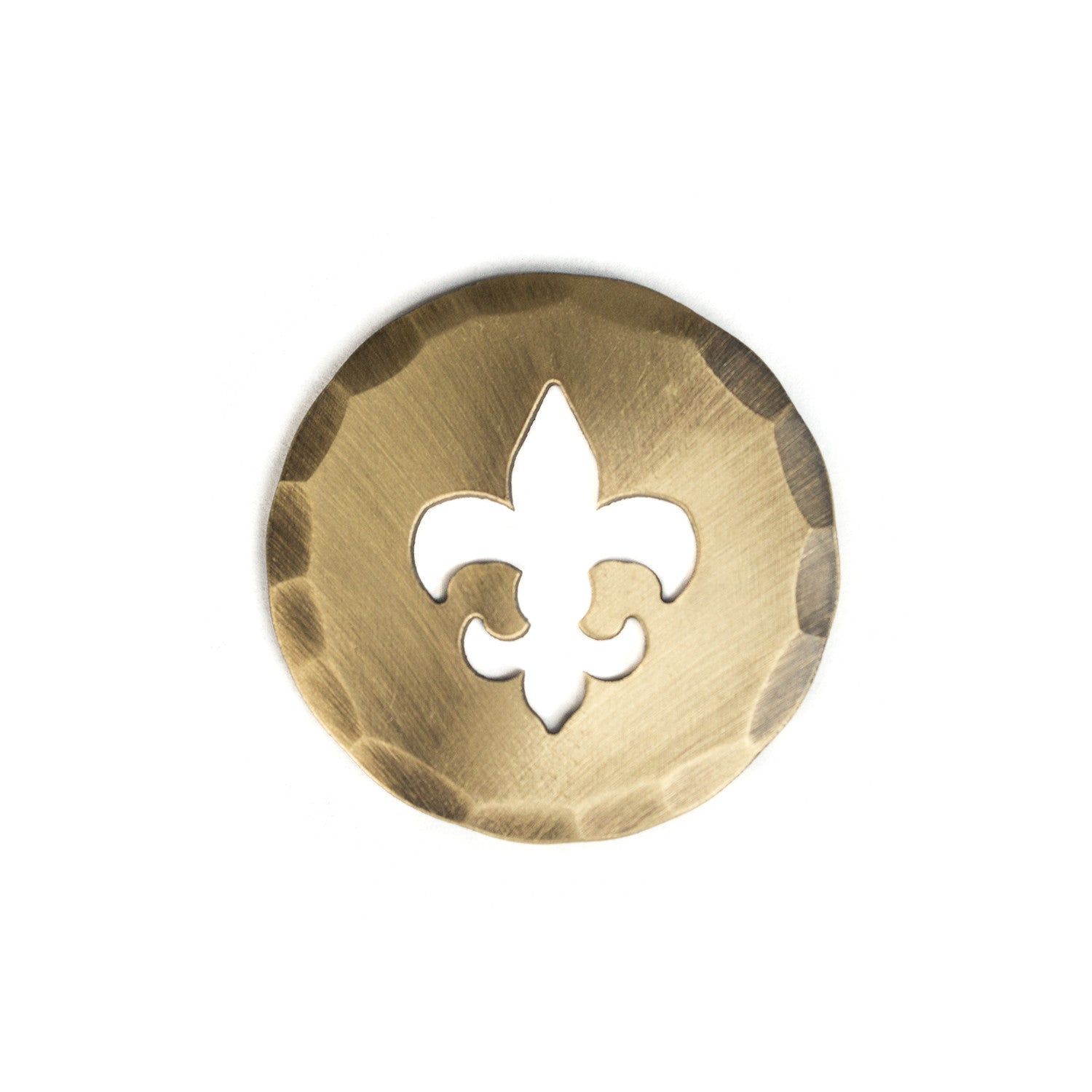 Fleur De Lis Cut-Out Ball Mark | Hand Forged® | Made in the USA ...