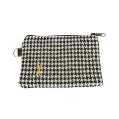Players Championship Harris Tweed Dogtooth Zippered Pouch