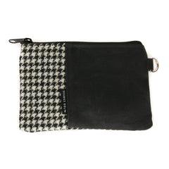 Harris Tweed Dogtooth Pouches