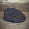 Clough Diller Windowpane Tweed Hanna Hat