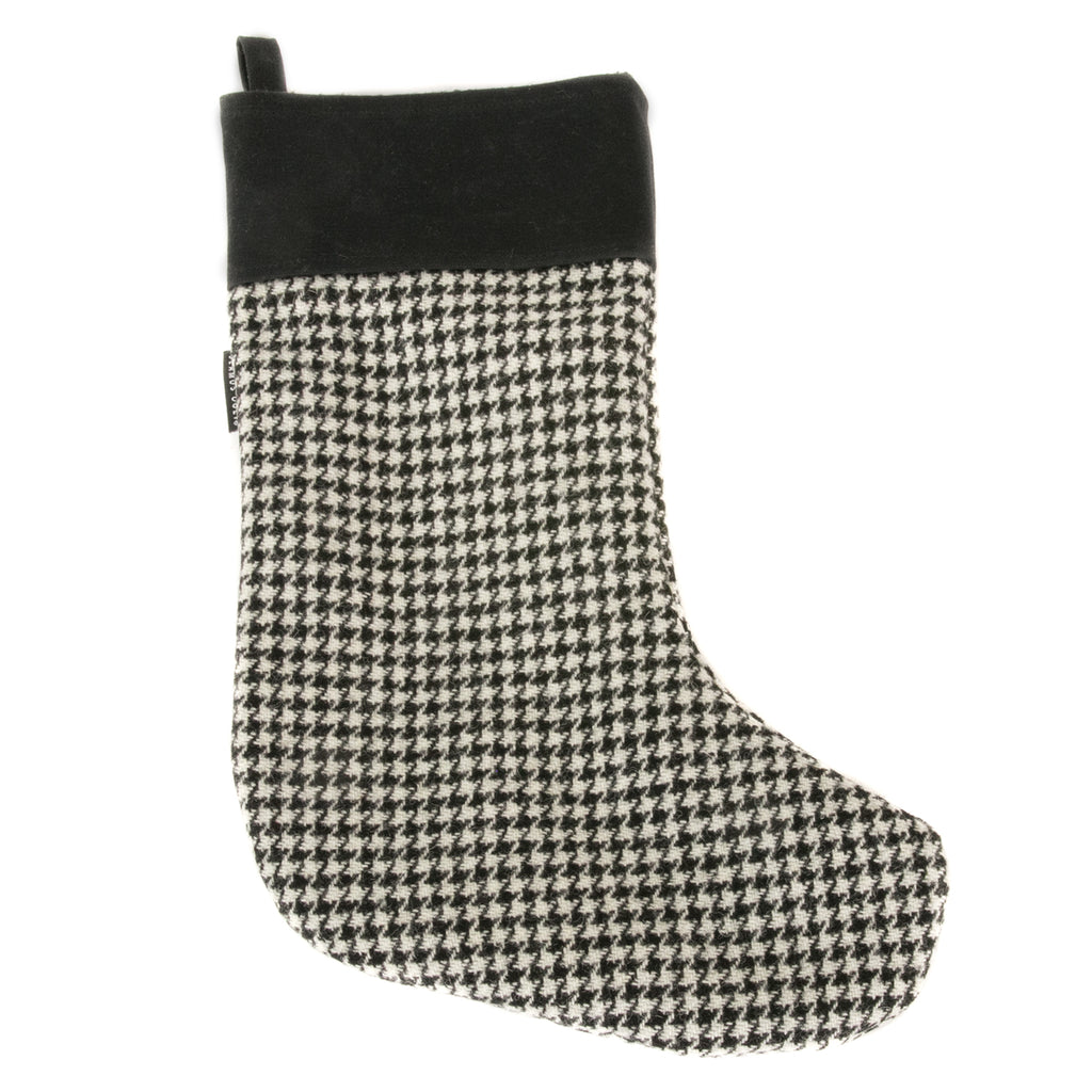Harris Tweed Dogtooth Stocking