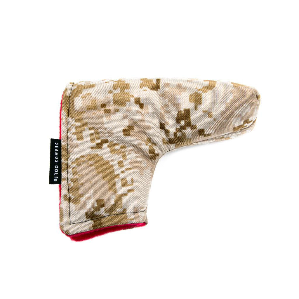 Desert Camo Putter Cover