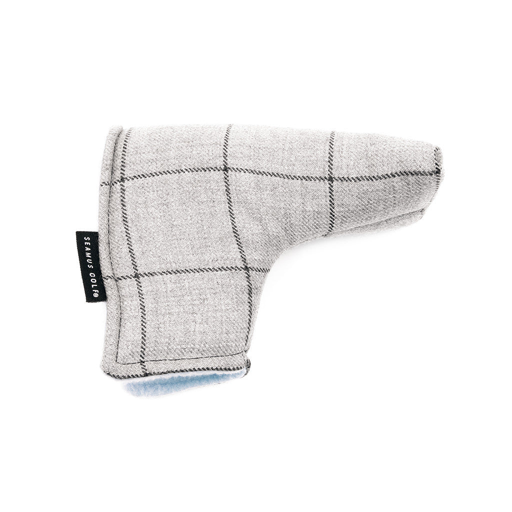 Sloan Square Steel Tartan Putter Cover