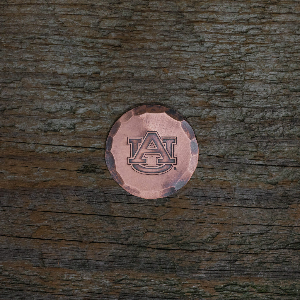 Hand Forged® Auburn University Tigers Ball Mark - Copper