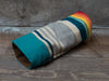 Turquoise Serape Stripe Fairway Cover