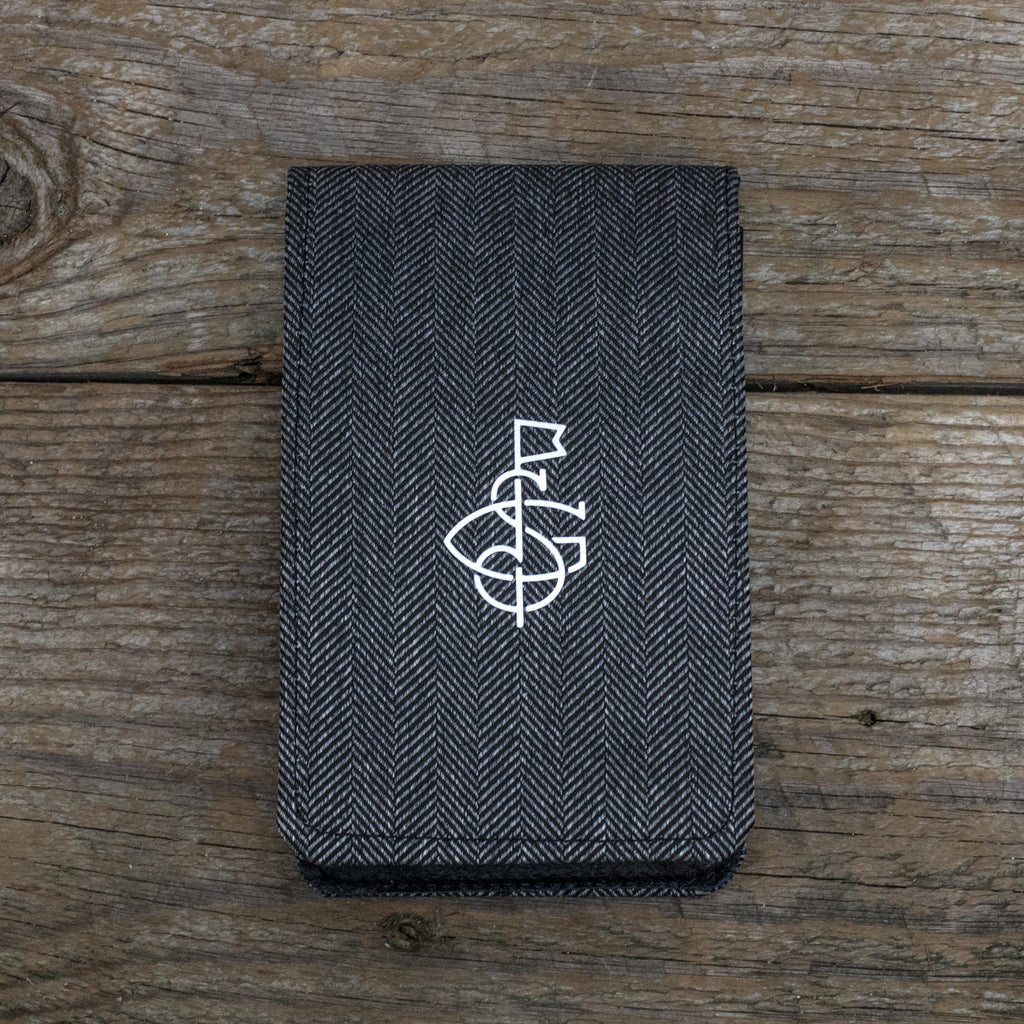 Greyson Herringbone Yardage Book Cover