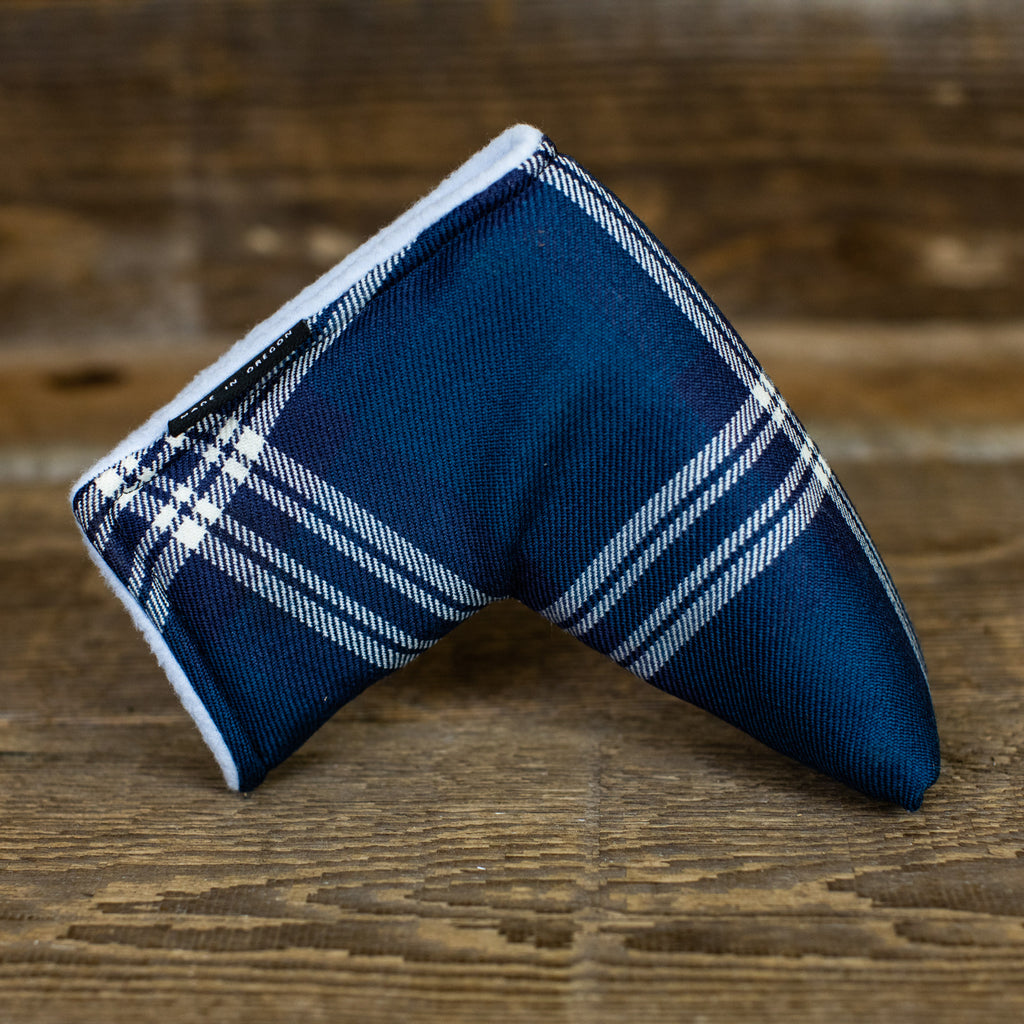 Earl of St. Andrews Modern Tartan Magnet Blade Putter Cover