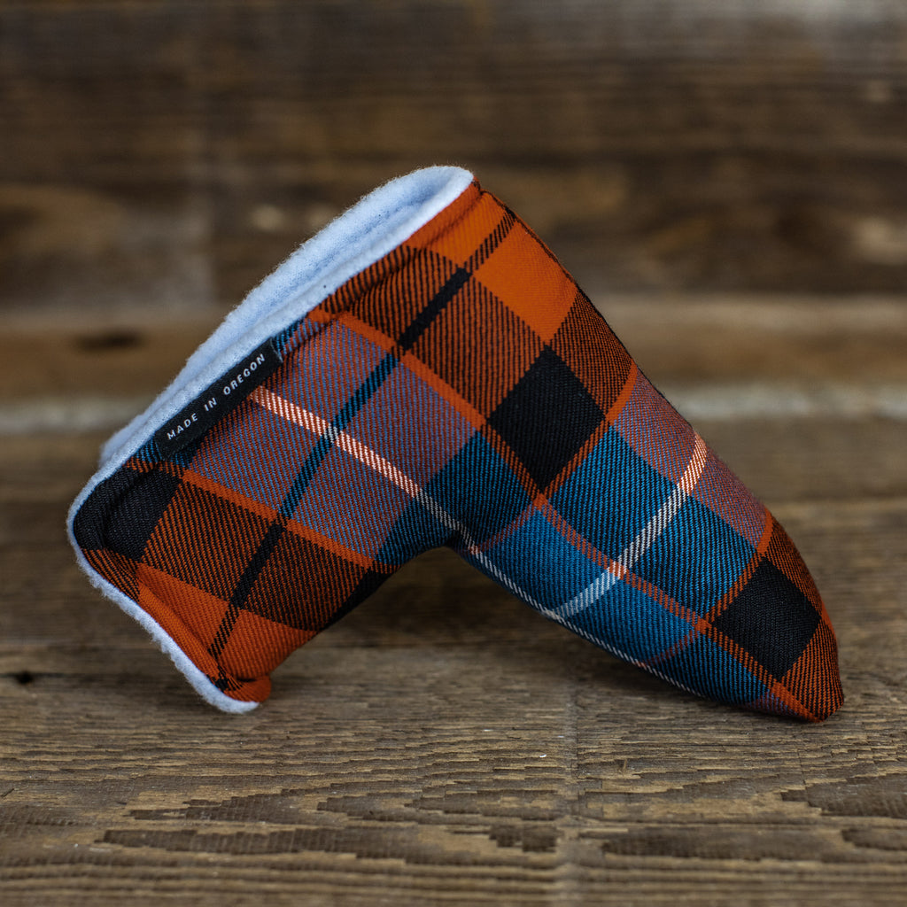 MacKay Dutch Modern Tartan Magnet Putter Cover