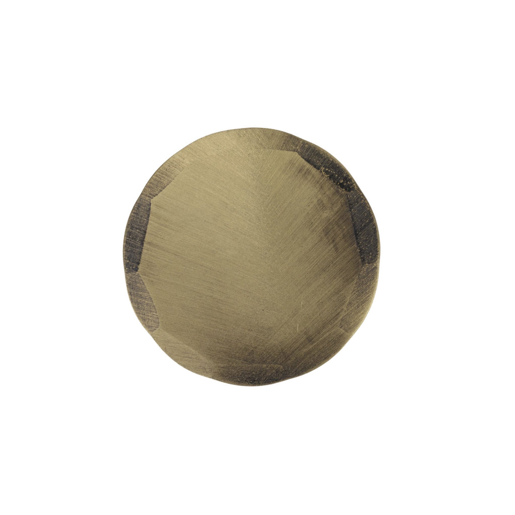 Hand Forged® Blank Circle Ball Mark - Bronze