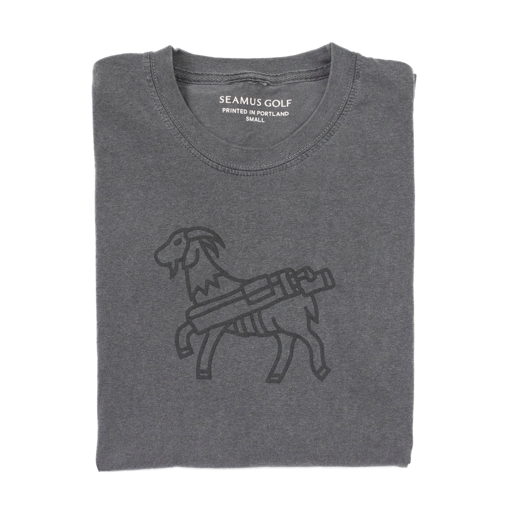 SEAMUS GOAT Long Sleeve Shirt- Pepper
