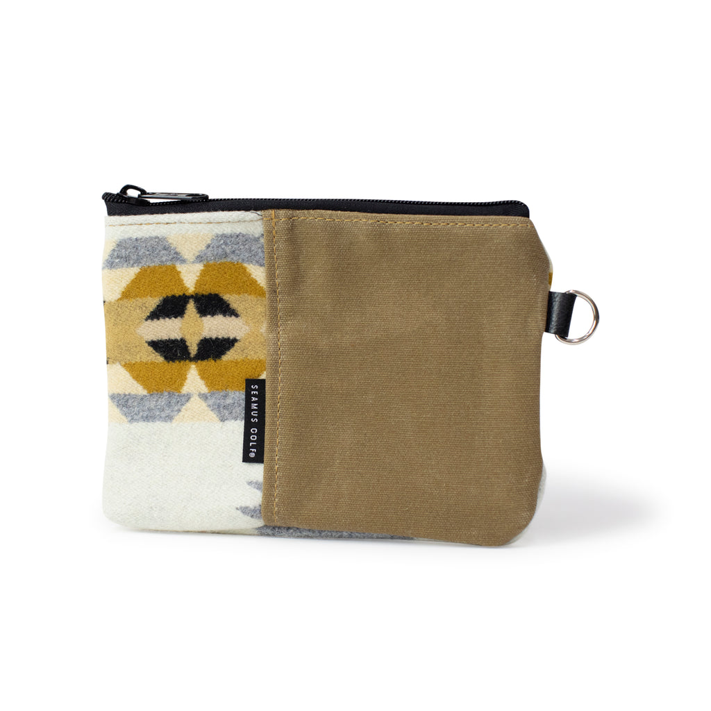Rancho Arroyo Zippered Pouch - Silver