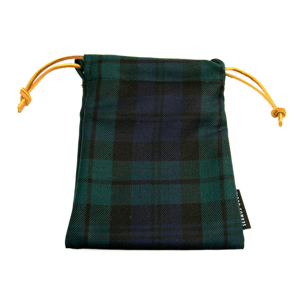 Black Watch Modern Tartan Pouches