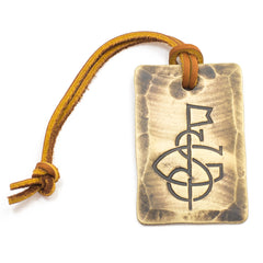 Hand Forged® Bronze Bag Tag