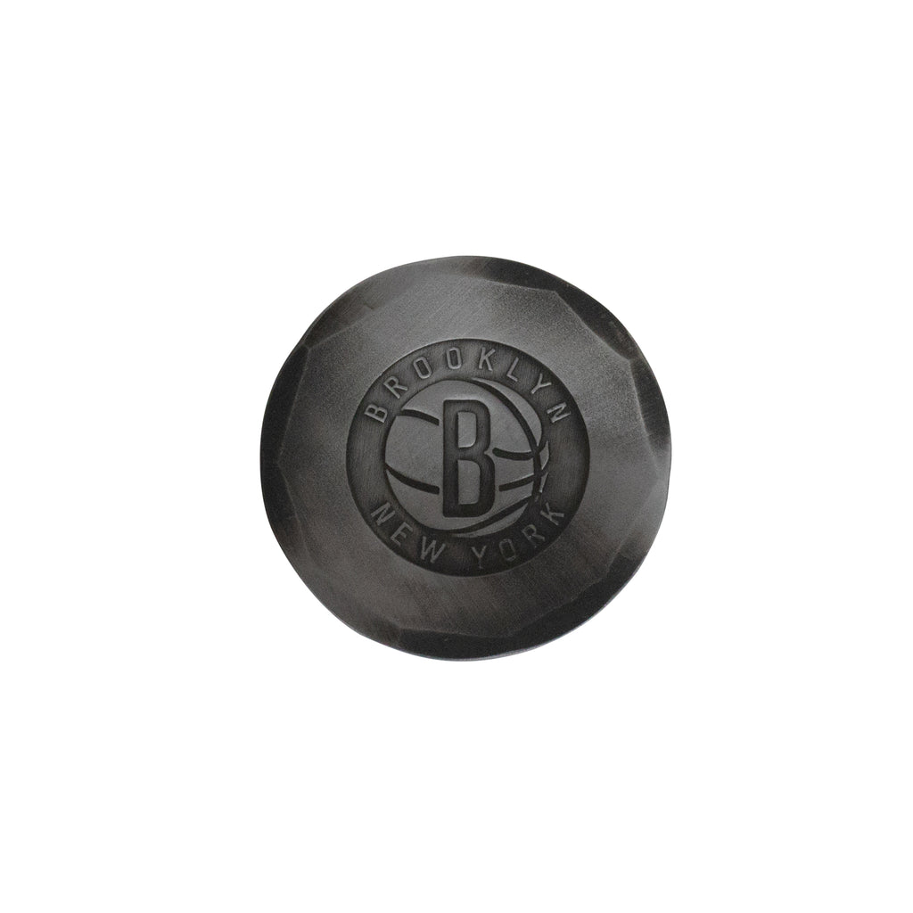 Hand Forged® Brooklyn Nets Ball Mark - Steel
