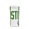 "Boston Celtics ""City Edition"" White Warm-up Jacket Headcover"