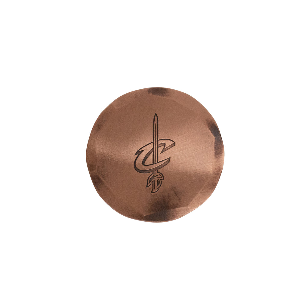 Hand Forged® Cleveland Cavaliers Ball Mark - Copper