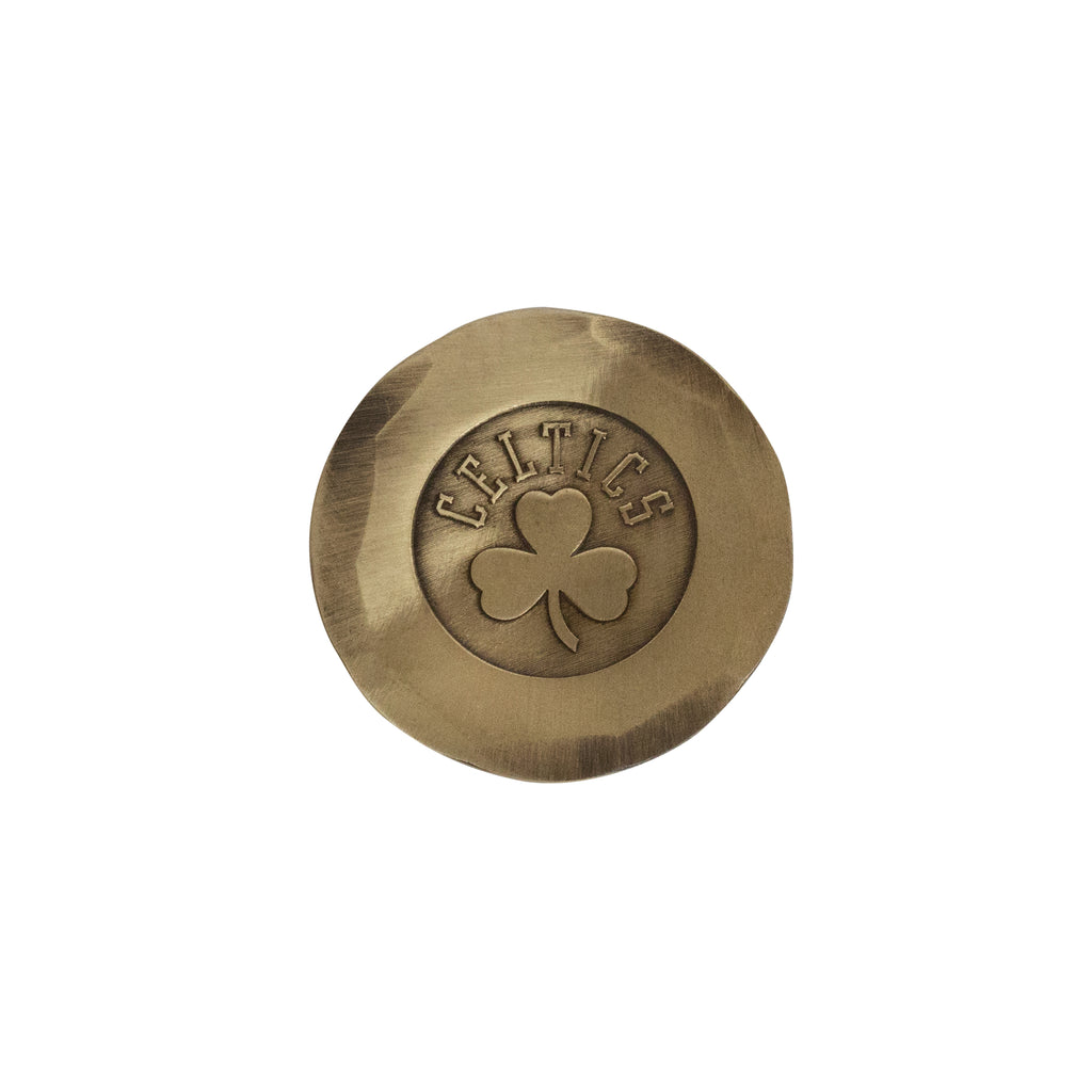 Hand Forged® Boston Celtics Ball Mark - Bronze