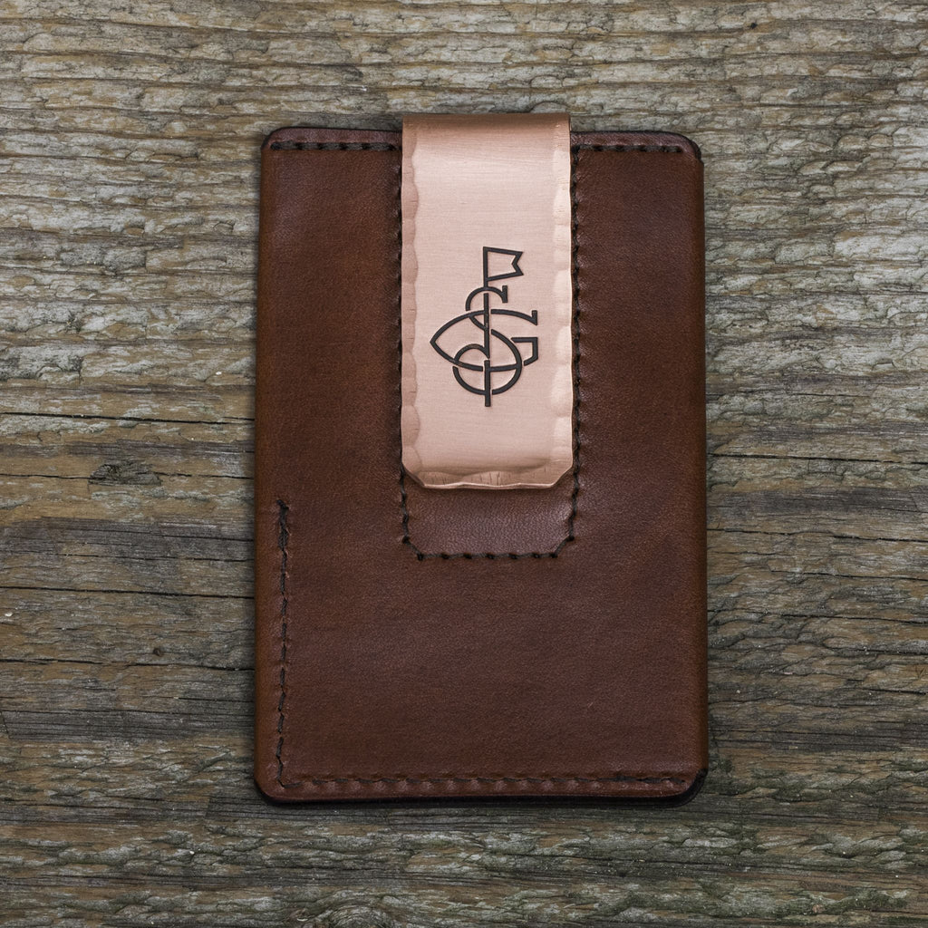 The Seamus Wallet II - Chocolate