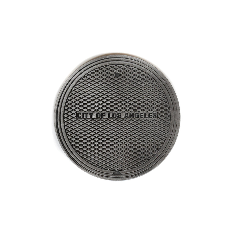 Hand Forged® LA Manhole Cover™ Ball Mark - Steel