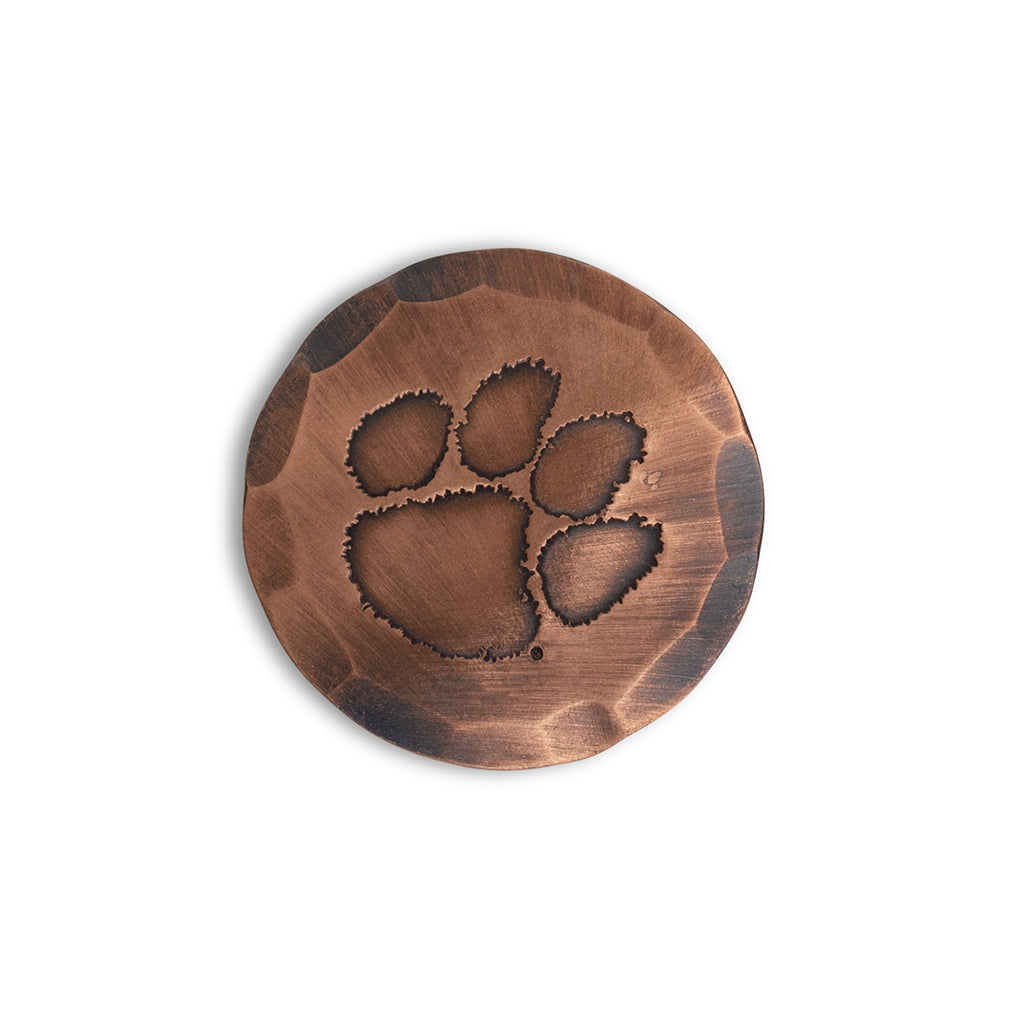 Hand Forged® Clemson University Tigers Ball Mark - Copper