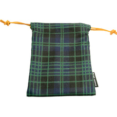 Clergy Green Modern Tartan Pouches