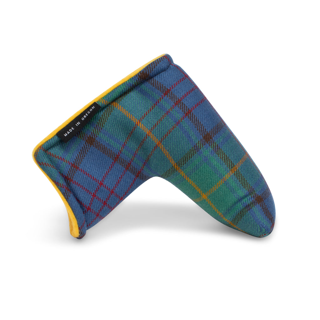 County Donegal Tartan Magnet Blade Putter Cover