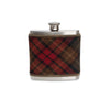 County Cavan Tartan Wrapped Flask