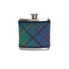 County Donegal Tartan Wrapped Flask