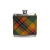 County Landonderry Tartan Wrapped Flask