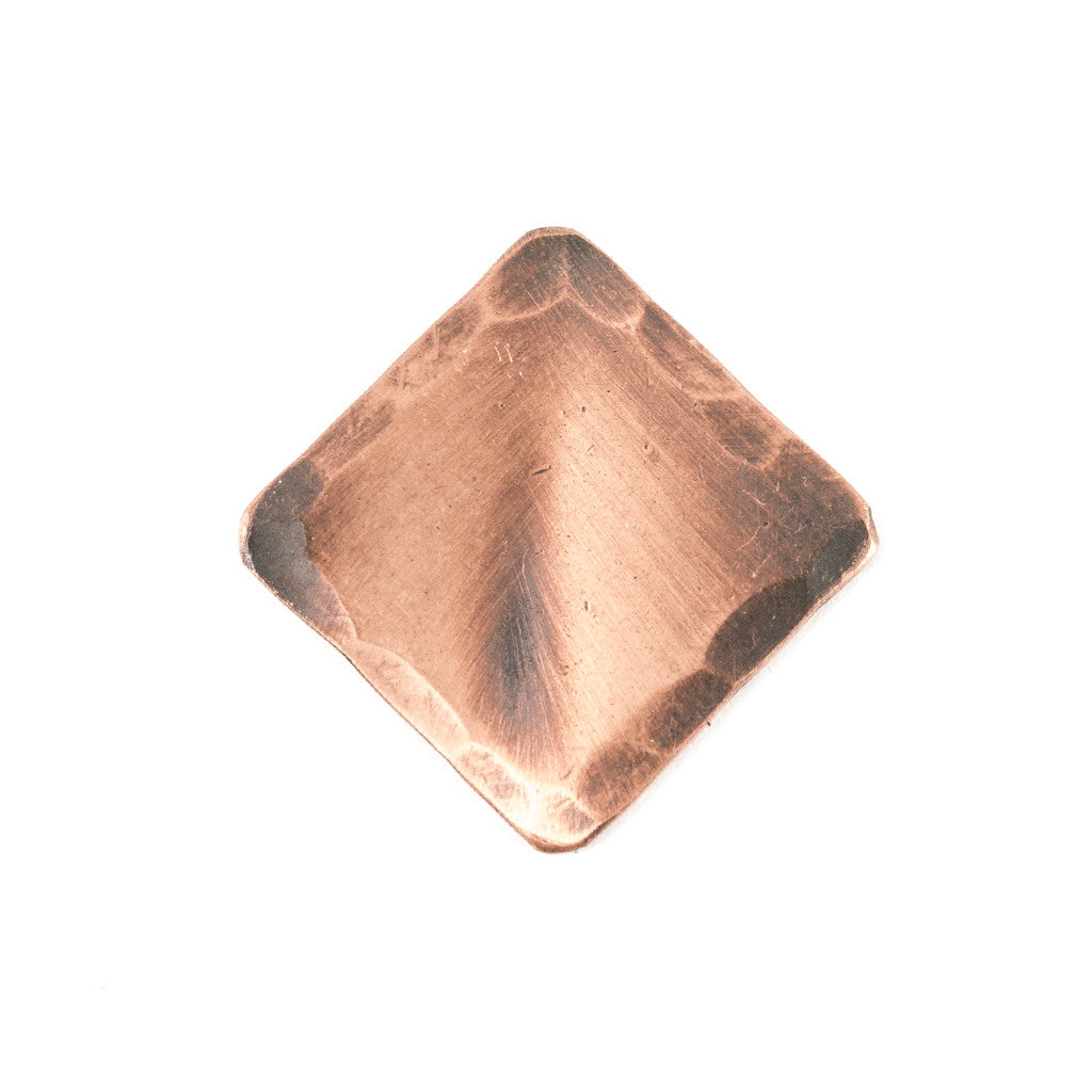 Hand Forged® Diamond Copper Blank Ball Mark