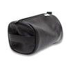 Black Moto Leather Dopp Kit