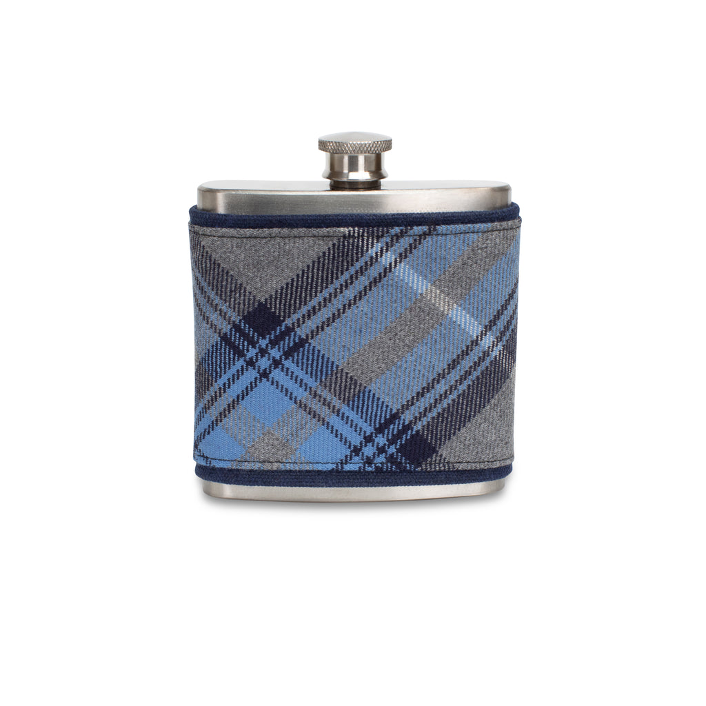 Doune Tartan Wrapped Flask