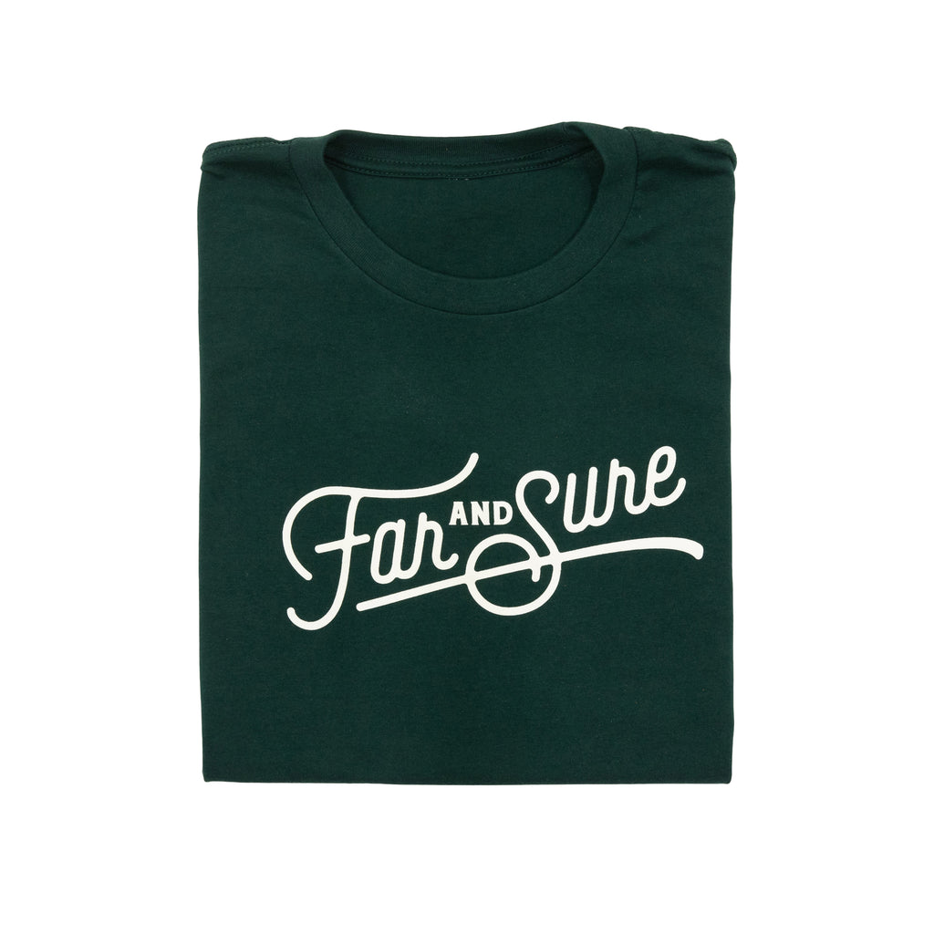 Far and Sure T-Shirt - Forest Green